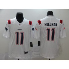 New England Patriots #11 Julian Edelman White 2020 New Vapor Untouchable Limited Nike NFL Men Jersey