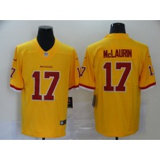 Washington Redskins #17 Terry McLaurin Yellow Color Rush Limited Nike NFL Men Jersey