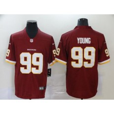 Washington Redskins #99 Chase Young Red 2020 NFL Draft First Round Pick Vapor Untouchable Limited Nike Men Jersey