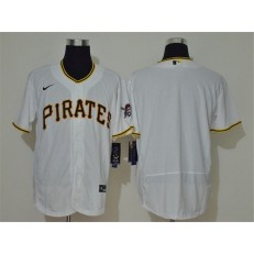 MLB Pittsburgh Pirates Blank White 2020 Nike Flexbase Jersey