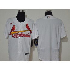 MLB St. Louis Cardinals Blank White Nike 2020 Cool Base Jersey