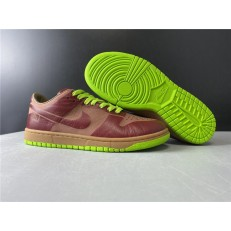 NIKE DUNK LOW 1-PIECE LASER VARSITY RED CHARTREUSE 311611-661