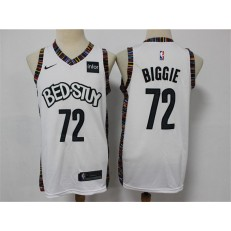 Brooklyn Nets #72 Biggie White 2020 City Edition Nike Swingman Jersey