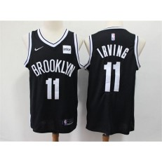 Brooklyn Nets #11 Kyrie Irving Black Nike Swingman Jersey
