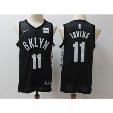 Brooklyn Nets #11 Kyrie Irving Black Nike Swingman Jerseys