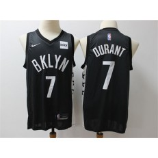 Brooklyn Nets #7 Kevin Durant Black Nike Swingman Jerseys