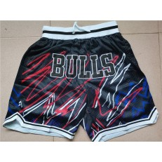 Chicago Bulls Black Just Don With Pocket Swingman Shorts