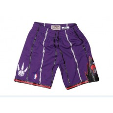 Toronto Raptors Purple Hardwood Classics Shorts