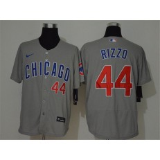 MLB Chicago Cubs #44 Anthony Rizzo Gray 2020 Nike Flexbase Jersey