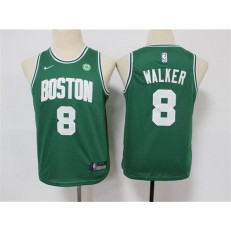 Boston Celtics #8 Kemba Walker Green Youth Swingman Jersey