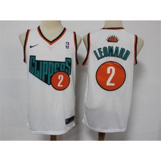 Los Angeles Clippers #2 Kawhi Leonard White Swingman Jersey