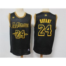 Los Angeles Lakers #24 Kobe Bryant Black Mamba Swingman Jersey