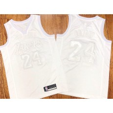 Los Angeles Lakers #24 Kobe Bryant White Nike AF 100 Commemorative Swingman Jersey