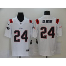 New England Patriots #24 Stephon Gilmore White New Vapor Untouchable Limited Jersey