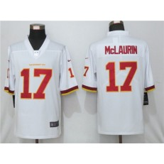 Washington Football Team #17 Terry McLaurin White Vapor Untouchable Limited Jersey