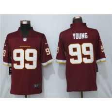 Washington Football Team #99 Chase Young Red Vapor Untouchable Limited Jersey