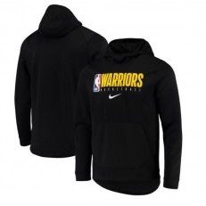 Golden State Warriors Nike Spotlight Practice Performance Pullover Hoodie - Black