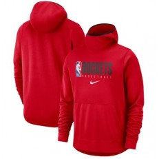 Houston Rockets Nike Spotlight Practice Performance Pullover Hoodie - Red