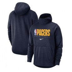 Indiana Pacers Nike Spotlight Practice Performance Pullover Hoodie - Navy