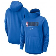 Oklahoma City Thunder Nike Spotlight Practice Performance Pullover Hoodie - Blue
