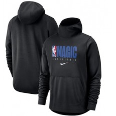Orlando Magic Nike Spotlight Practice Performance Pullover Hoodie - Black