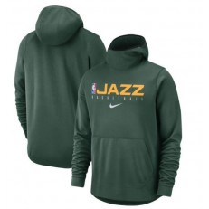 Utah Jazz Nike Spotlight Practice Performance Pullover Hoodie - Green