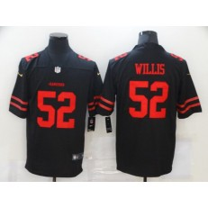 San Francisco 49ers #52 Patrick Willis Black Vapor Untouchable Limited Jersey