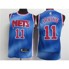 Brooklyn Nets #11 Kyrie Irving Blue 2021 Nike Classic Edition Swingman Jersey