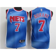 Brooklyn Nets #7 Kevin Durant Blue 2021 Nike Classic Edition Swingman Jersey