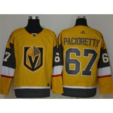 Vegas Golden Knights #67 Max Pacioretty Gold 2020-21 Adidas Jersey