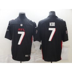 Atlanta Falcons #7 Younghoe Koo Black New Vapor Untouchable Limited Jersey