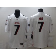 Atlanta Falcons #7 Younghoe Koo White New Vapor Untouchable Limited Jersey