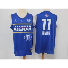 Brooklyn Nets #11 Kyrie Irving Blue 2021 NBA All-Star Jordan Brand Swingman Jersey