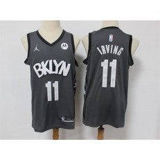 Brooklyn Nets #11 Kyrie Irving Dark Gray 2021 Swingman Jersey