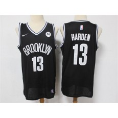 Brooklyn Nets #13 James Harden Black 2021 Nike Swingman Jersey