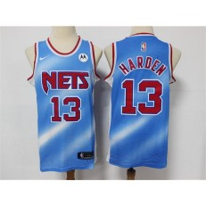 Brooklyn Nets #13 James Harden Blue 2021 Nike Swingman Jersey
