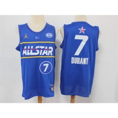 Brooklyn Nets #7 Kevin Durant Blue 2021 NBA All-Star Jordan Brand Swingman Jersey