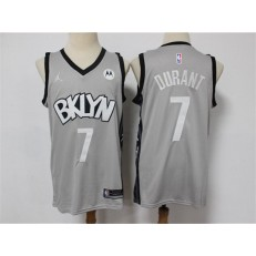 Brooklyn Nets #7 Kevin Durant Gray 2021 Swingman Jersey