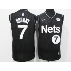 Brooklyn Nets #7 Kevin Durant Black 2021 Earned Edition Swingman Jersey