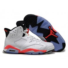 AIR JORDAN 6 RETRO INFRARED 2014 WHITE