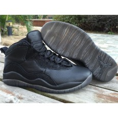 AIR JORDAN 10 RETRO OVO BLACK