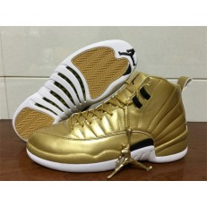 AIR JORDAN 12 RETRO PINNACLE GOLD HD