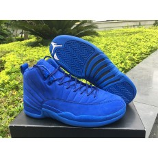 AIR JORDAN 12 RETRO PSNY BLUE SUEDE