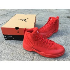 AIR JORDAN 12 RETRO PSNY RED SUEDE