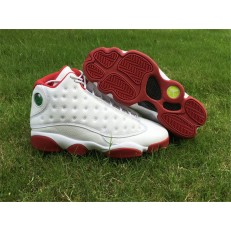 AIR JORDAN 13 RETRO WHITE GYM RED