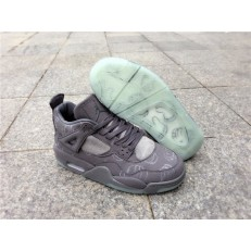 AIR JORDAN 4 RETRO KAWS (GS)COOL GREY