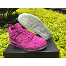 AIR JORDAN 4 RETRO KAWS (GS) PURPLE