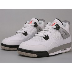 AIR JORDAN 4 RETRO OG BG (GS) WHITE CEMENT