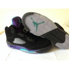 AIR JORDAN 5 RETRO GS BLACK GRAPE