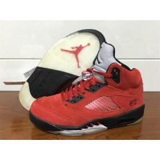 AIR JORDAN 5 RETRO GS RAGING BULL RED SUEDE